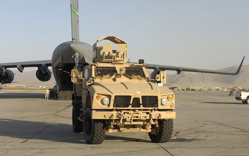 Oshkosh M-ATV (Bild: U.S. Air Force photo/Senior Airman Susan Tracy, Wikimedia)