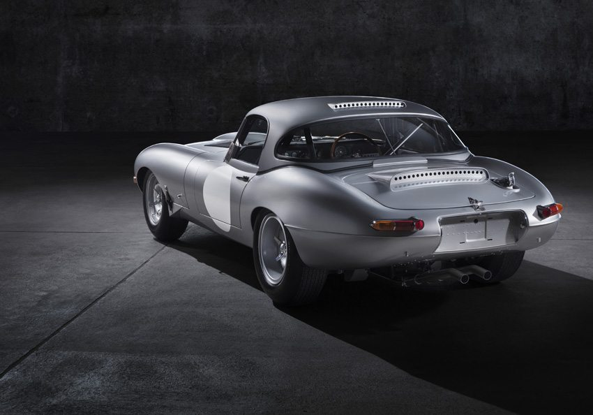 Jaguar Lightweight E-Type – Heckansicht. (Bild: Jaguar Land Rover Limited)
