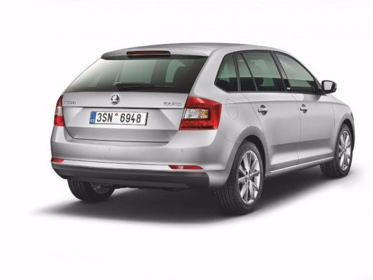 SKODA Rapid Spaceback 'Swiss Joy'