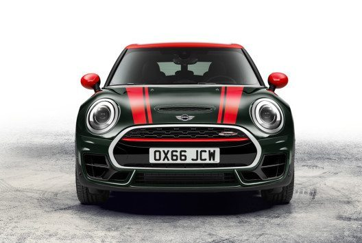 Der neue MINI John Cooper Works Clubman ALL4 – Frontansicht. (Bild: BMW Group)